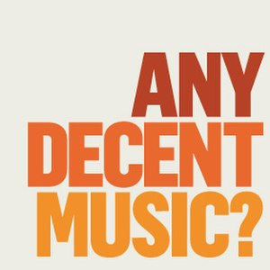 AnyDecentMusic? - Image: Any Decent Music? (logo)