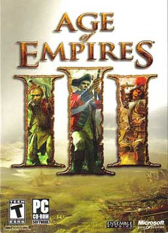 Age of Empires III - Image: Aoeiii cover