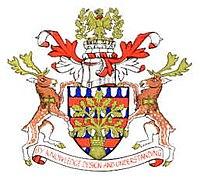 Oficiala emblemo de Urbeto de Milton Keynes