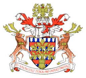 Borough of Milton Keynes - Image: Arms milton k