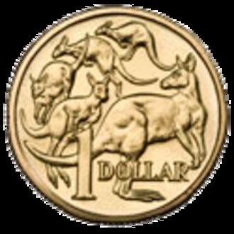 Australian one dollar coin - Image: Australian $1 Coin