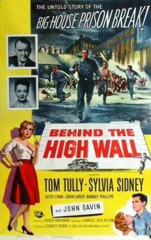 Behind the High Wall - Theatrical release poster