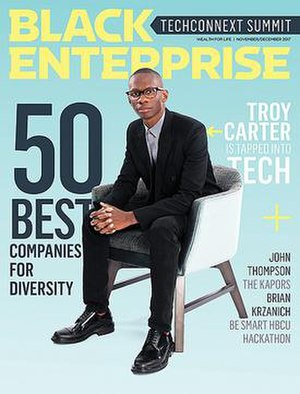 Black Enterprise - Image: Black Enterprise May 2008
