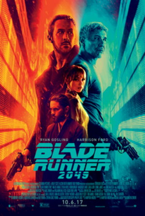 Blade Runner 2049 - Theatrical release poster