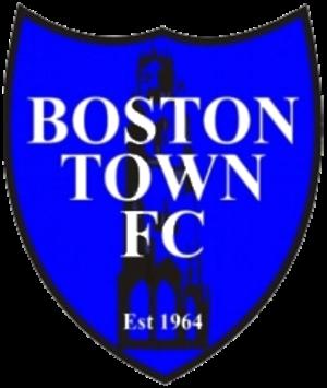 Boston Town F.C. - Image: Boston Town logo