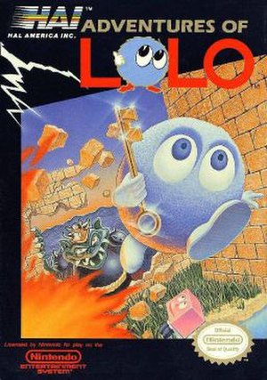Adventures of Lolo - North American cover art