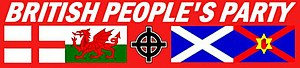 British People's Party (2005) - Image: British People's Party logo