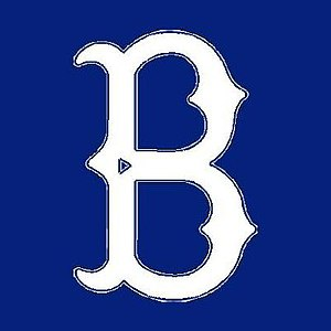 Subway Series - Image: Brooklyn Dodgers Cap Insignia