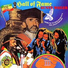 Bunny Wailer, Hall of Fame album cover.jpg