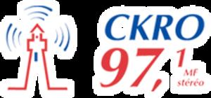 CKRO-FM - Image: CKRO 97.1stereo logo
