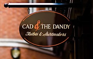 Cad and the Dandy - Image: Cad & the Dandy Logo