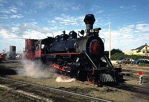 California Western 45 - Image: California Western Skunk Train