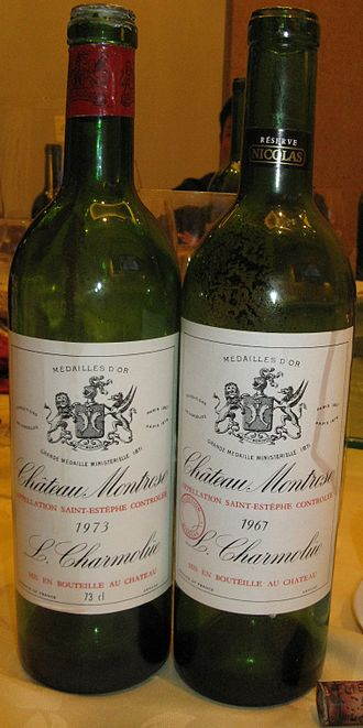 Château Montrose - Grand vin from the 60s and 70s