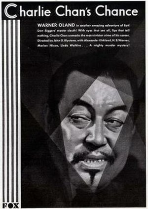 Charlie Chan's Chance - Image: Charlie Chan's Chance Film Poster