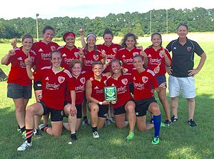 Chicago Griffins RFC - Chicago Griffins Women's 7s Team 2016 Midwest Champions