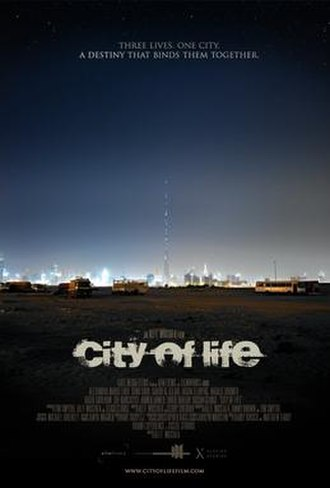 City of Life - Official poster for the film