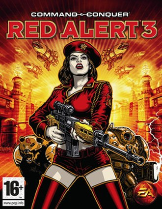 Command & Conquer: Red Alert 3 - Image: Command & Conquer Red Alert 3 Game Cover