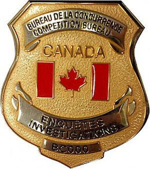 Competition Bureau (Canada) - Image: Competition bureau badge