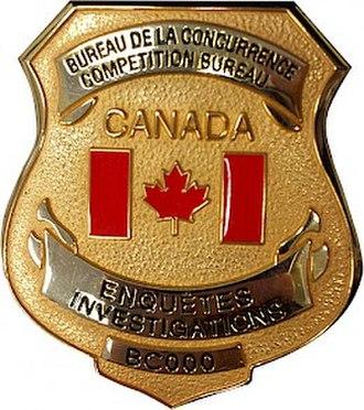 Competition Bureau (Canada) - Image: Competition bureau badge