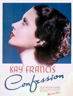 <i>Confession</i> (1937 film) 1937 film