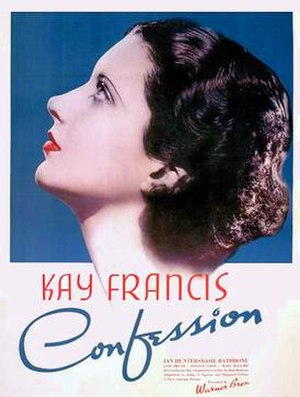 Confession (1937 film) - 1937 US Theatrical Poster