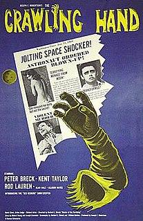 <i>The Crawling Hand</i> 1963 film by Herbert L. Strock