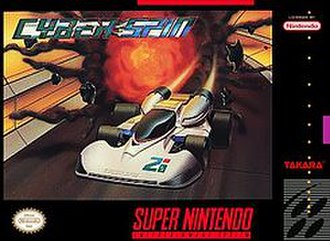 Cyber Spin - North American cover art