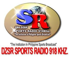 DZSR - Sports Radio logo (1996-2017)