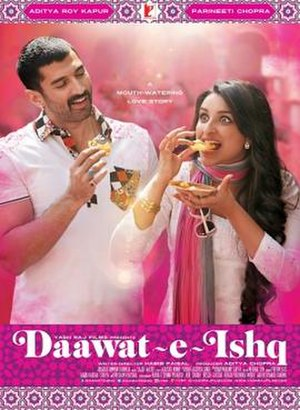 Daawat-e-Ishq - Theatrical release poster