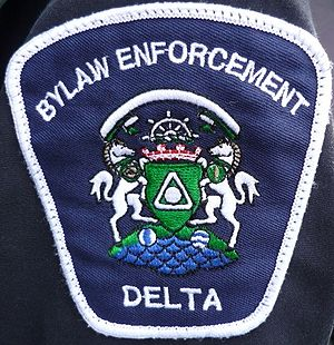 Bylaw enforcement officer - Bylaw Enforcement Officer patch from City of Delta, BC