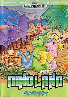 c29b7528d1 Dino Land. North American cover art