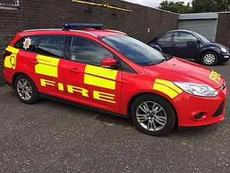 Essex County Fire and Rescue Service - Officer Incident Response Vehicle (IRV)