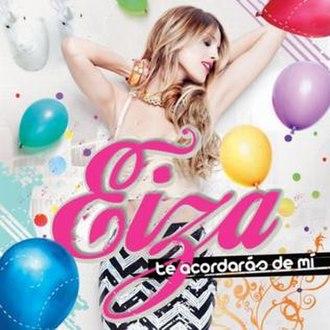 Te Acordarás de Mí (Eiza González album) - Image: Eiza Gonzalez album Te Acordaras de Mi