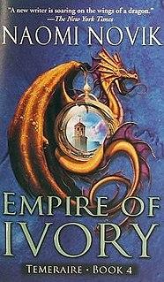 <i>Empire of Ivory</i> novel by Naomi Novik