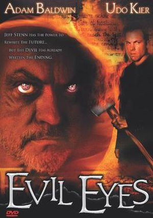 Evil Eyes - DVD cover