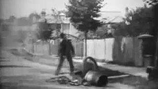 <i>Explosion of a Motor Car</i> 1900 film by Cecil Hepworth