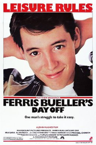 Ferris Bueller's Day Off - Theatrical release poster