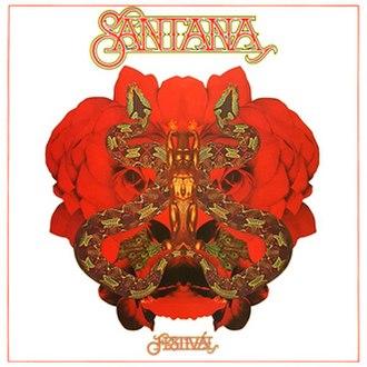 Festival (Santana album) - Image: Festival Album