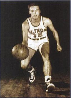 Jim Bredar - Image: Fighting Illini guard Jim Bredar