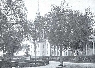 William Phelps (colonist) - First Parish Church of Dorchester as of 1896