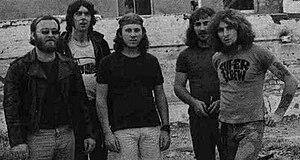 Fraternity (band) - Fraternity: (L–R) Bruce Howe, Mick Jurd, John Freeman, John Bisset, Bon Scott