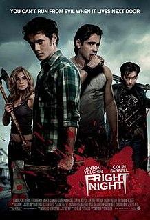 <i>Fright Night</i> (2011 film) 2011 film by Craig Gillespie