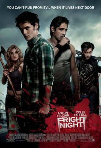 Fright Night (2011 film) - Theatrical release poster