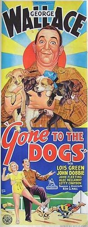 Gone to the Dogs (1939 film) - Theatrical release poster