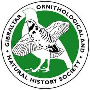 Gibraltar Ornithological & Natural History Society - GONHS official logo.