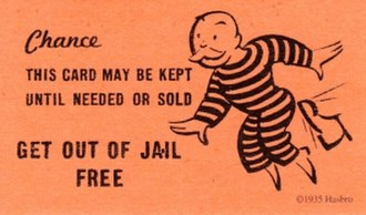 Get Out of Jail Free card - A Get Out of Jail Free card