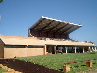 Scotch College, Perth - The Gooch Pavilion on the sports fields.