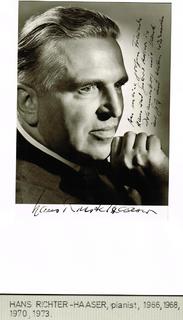 Hans Richter-Haaser German musician