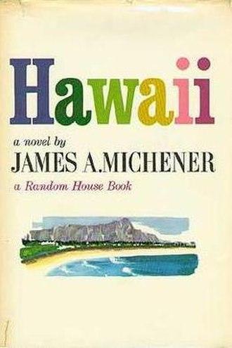 Hawaii (novel) - Image: Hawaii Novel