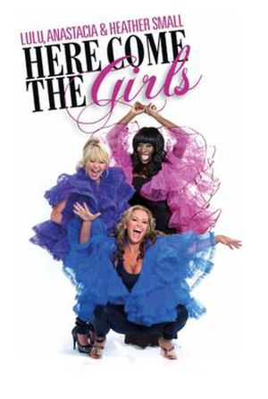 Here Come the Girls (concert tour) - Promotional poster for 2010 leg of tour